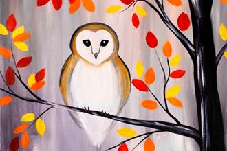 small autumn owl