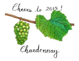 Cheers to 2019! May it be a good vintage.
