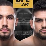 UFC 234 live