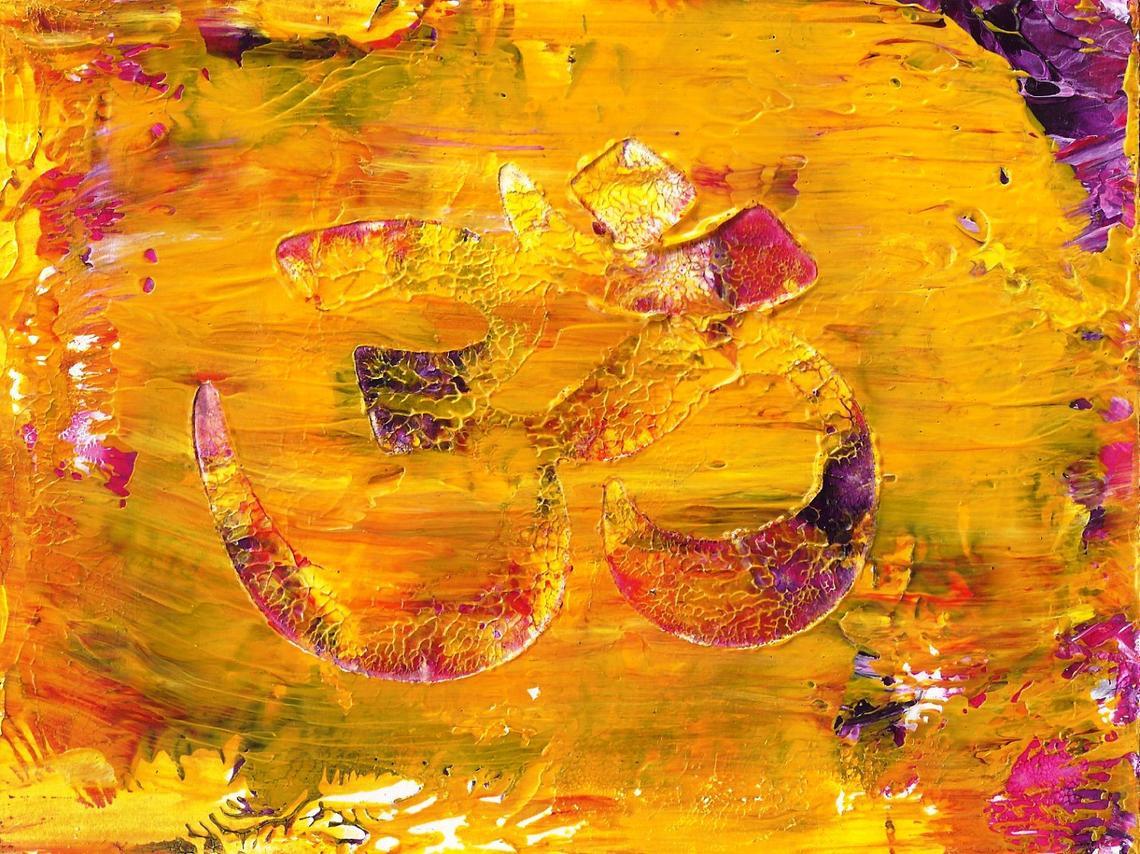 Om Symbol Painting