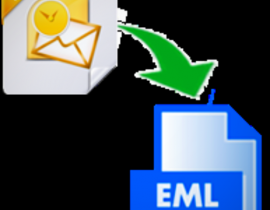 Access Outlook 2016 files to Windows Live Mail with MSG to EML Converter