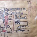 Fridge & books