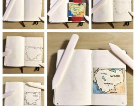 Add a custom map to your notebook