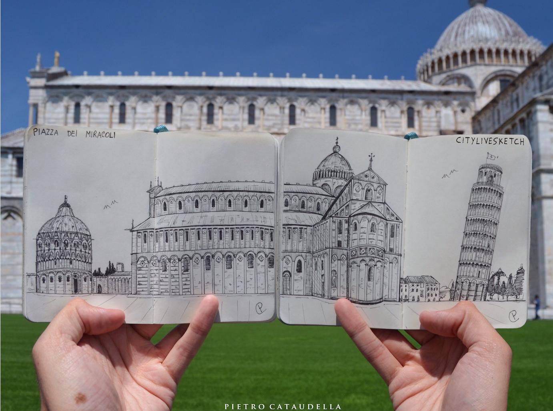 Piazza dei Miracoli DOUBLE Live Sketch