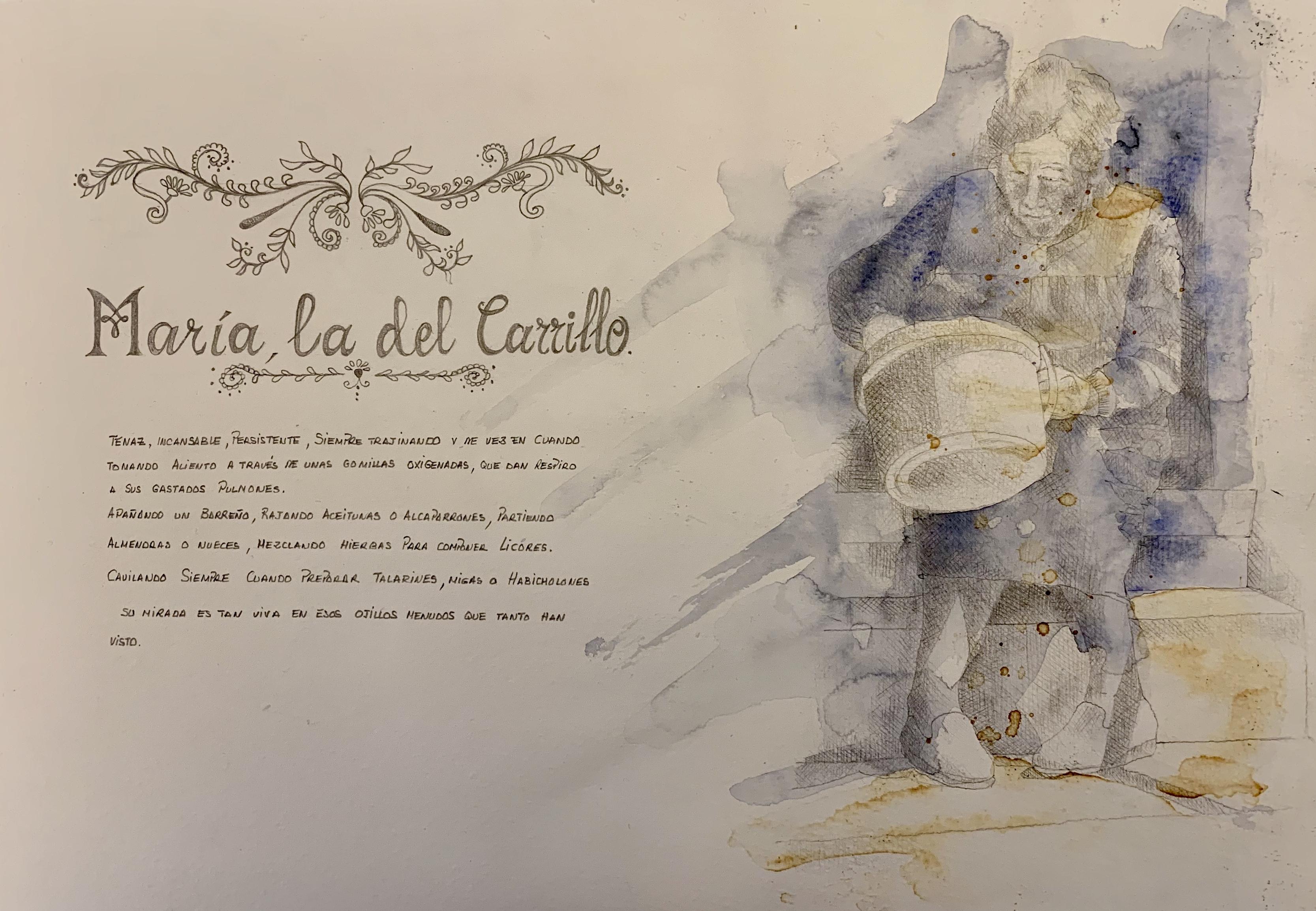 """María """"La del carrillo"""""""