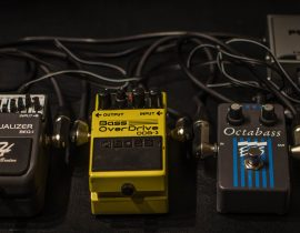 Musical Study Octave Pedal