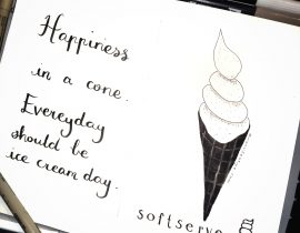 Happiness in a cone