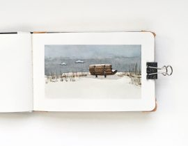 Snowscape – Small Format & Limited Palette
