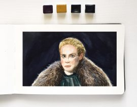 Brienne of Tarth – Sketch