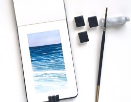 Seascape – Small Format & Limited Palette