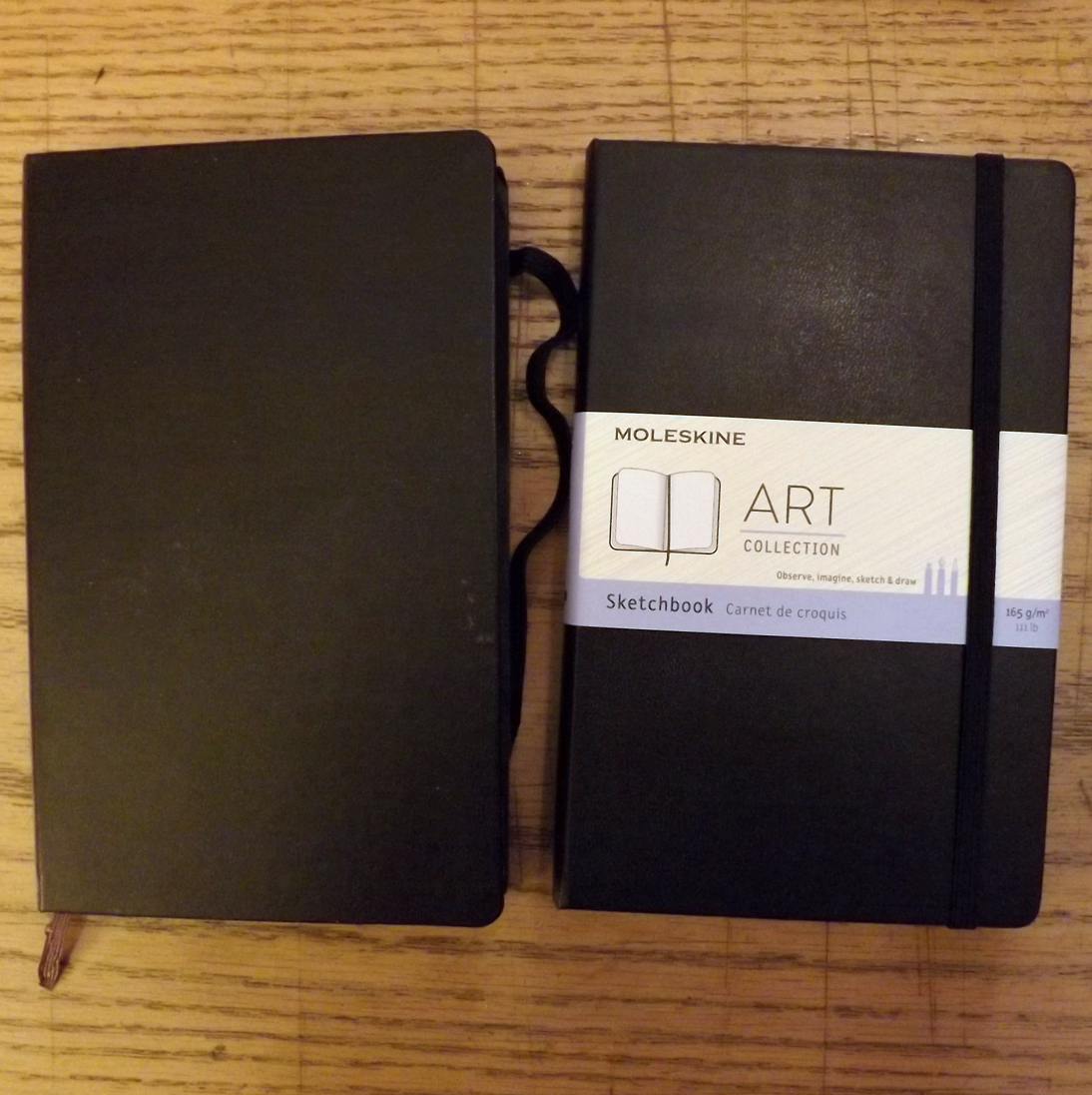 …changing of the Moleskine guard…