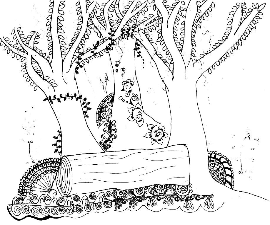 Ink's garden