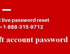 account live password reset