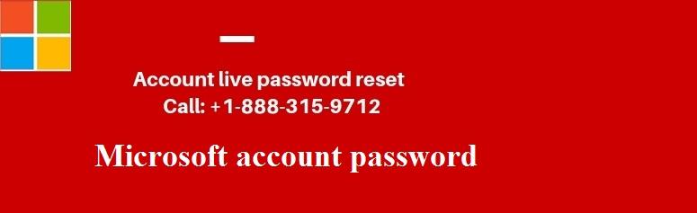 account live password reset