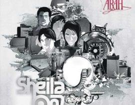 sketsa gambar dari album terbaik sheila on 7