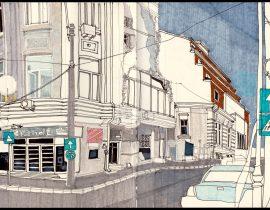 Random streets of Bucharest