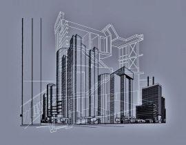 blueprinted urbanity