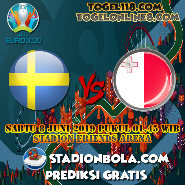 Prediksi Swedia vs Malta 8 Juni 2019 – Kualifikasi EURO 2020