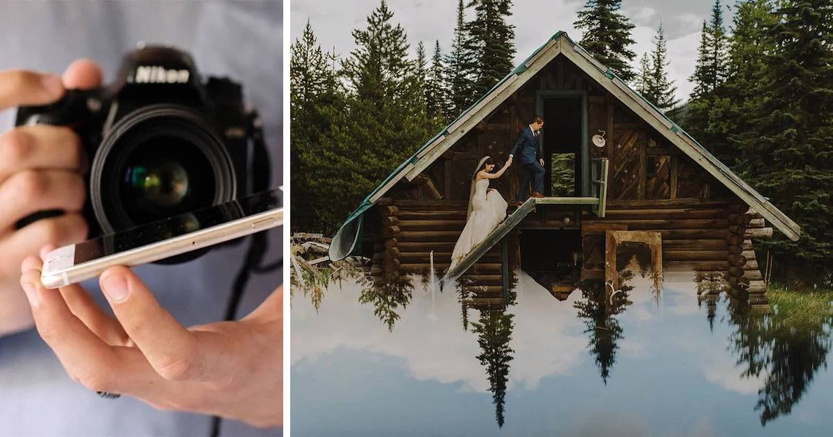 Photography Hack: How to Use a Phone Screen to Create Enchanting Portraits