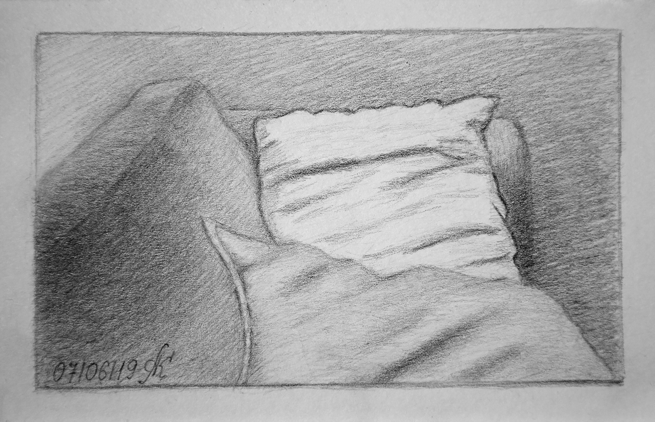 Still life with the pillows