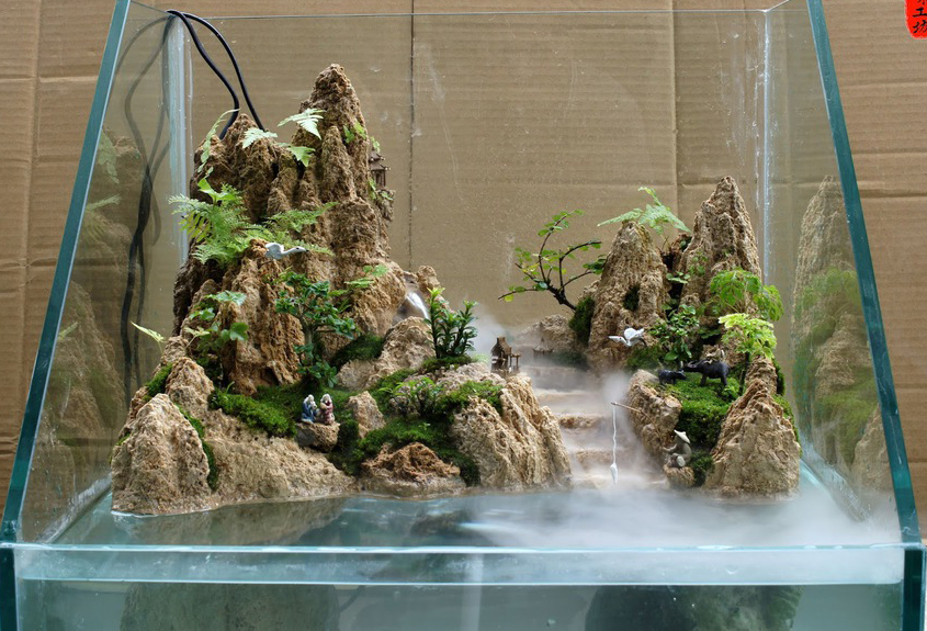 Paludarium Waterfall