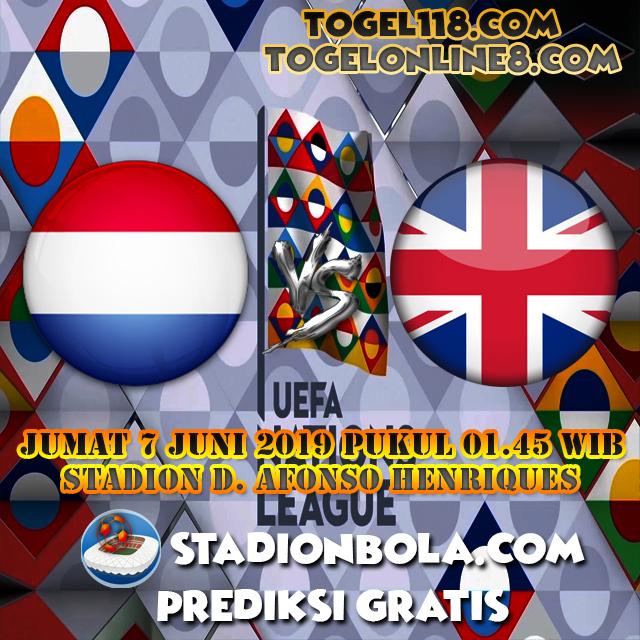 Prediksi Belanda vs Inggris 7 Juni 2019 – Liga Negara UEFA