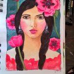 portrait jeune fille
