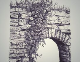 stone arch, Cyclades