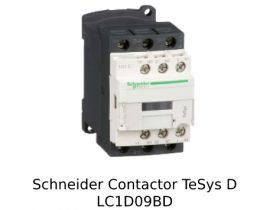 Schneider Contactor LC1D09BD