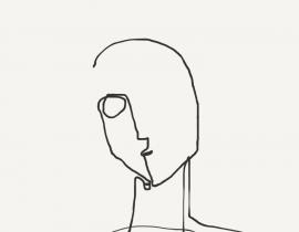 one-line portrait 1