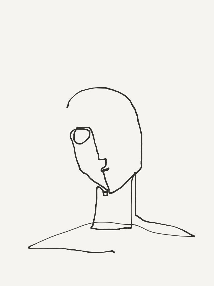 one-line portrait 1