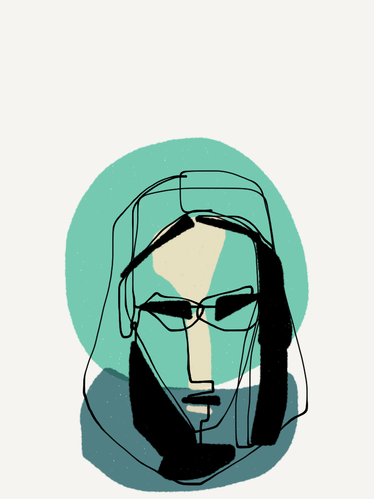 one-line portrait 9