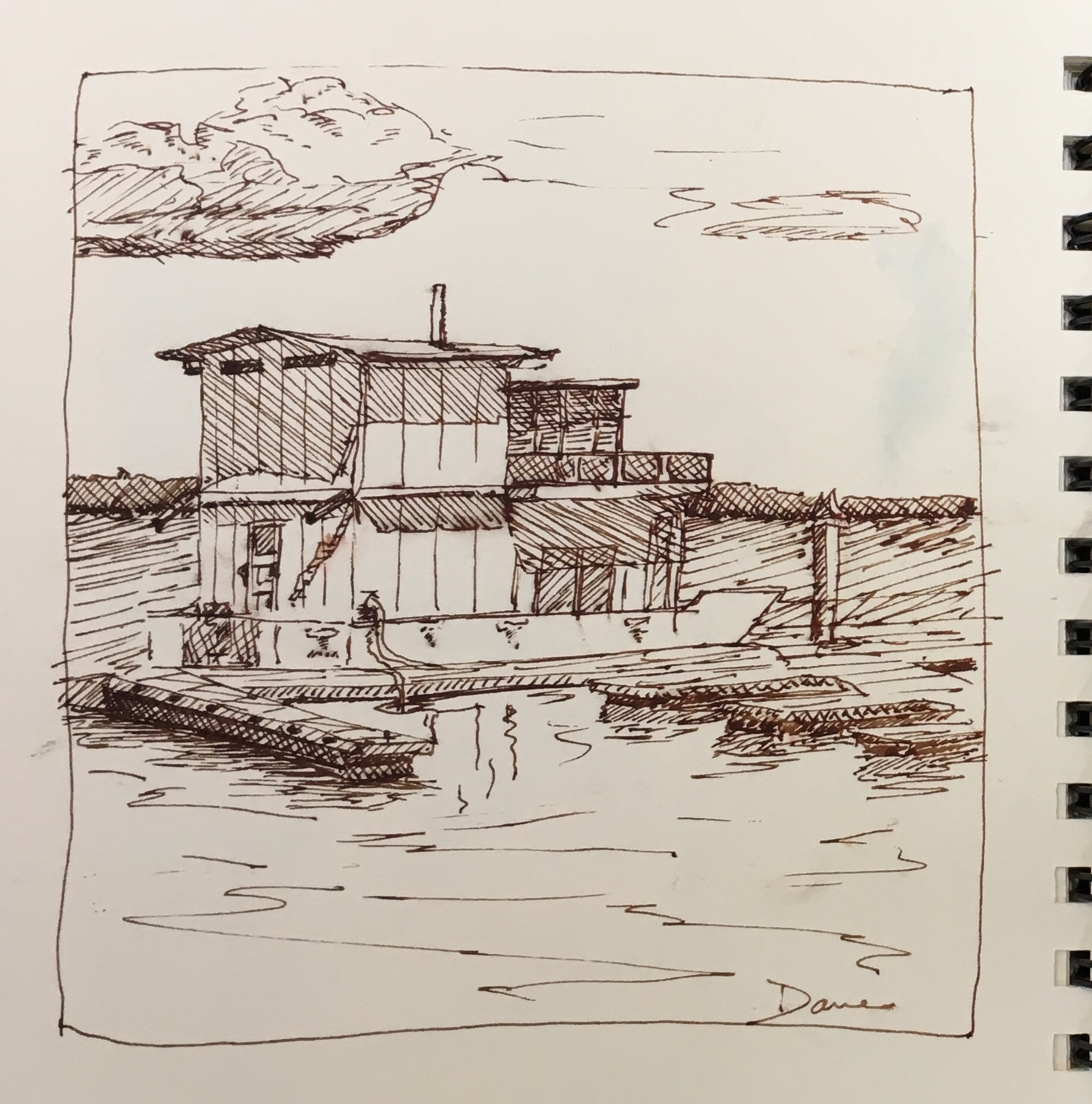 House Boat SF Bay