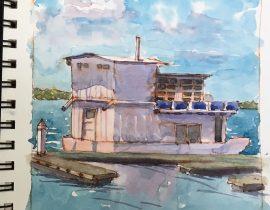 House boat SF Bay WC