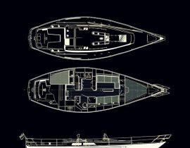 Catalina 38 – both decks and hull