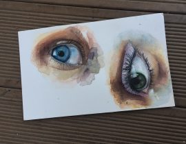 Watercolour Eyes