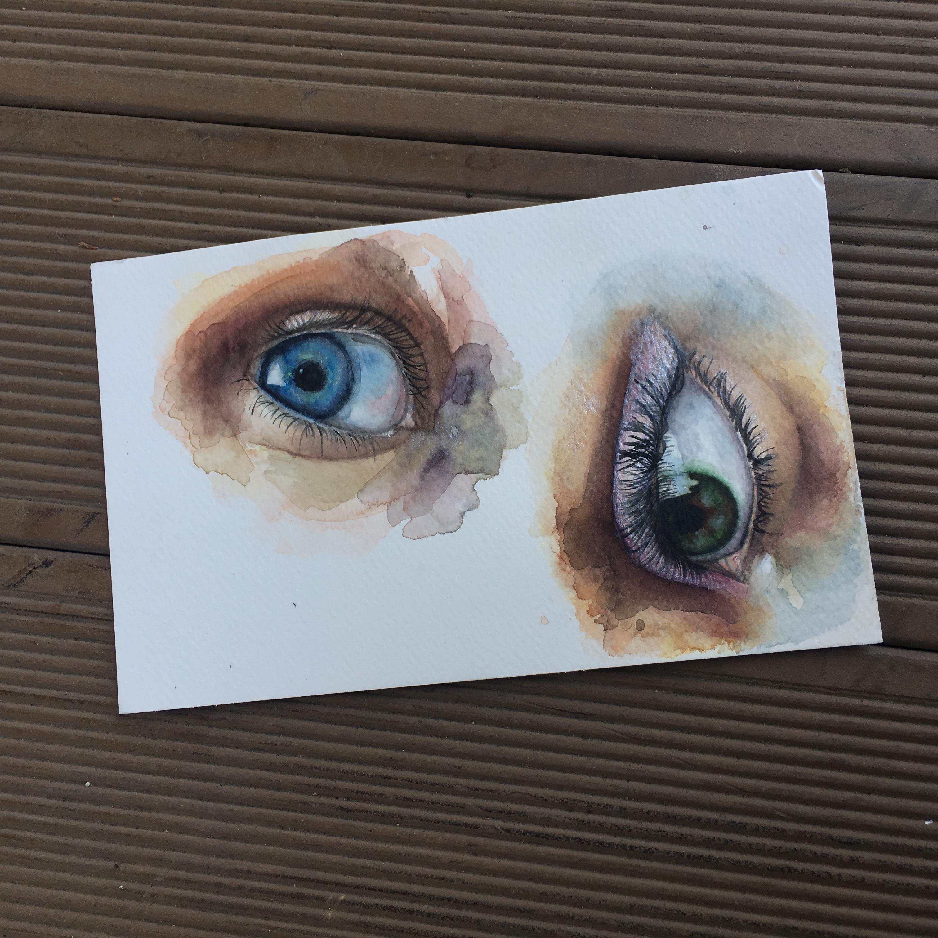 Watercolour Eyes