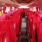 Bus Pariwisata Bandung Interior