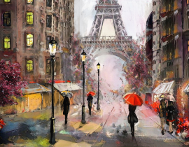 The Eiffel Tower Artworks