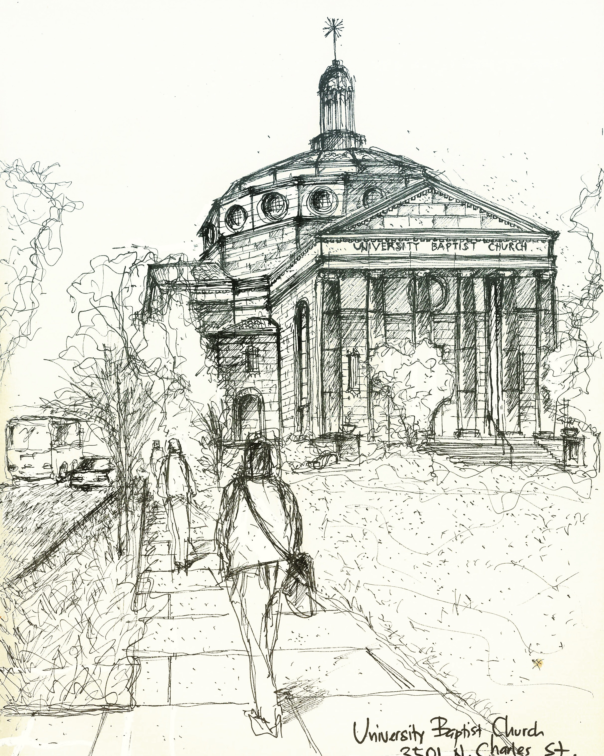 Baltimore in Sketches