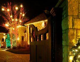 Christmas Light Bulb Yard Decorations