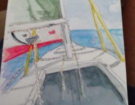 My sailboat PANTA REI
