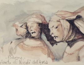 Bologna – Compianto di Nicolò dell'Arca