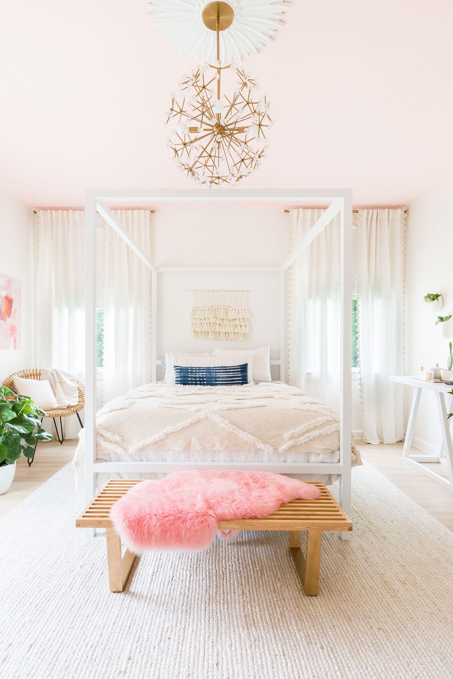 Light Pink Living Room Accessories