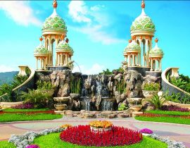 Kota Bunga VS Taman Bunga Nusantara