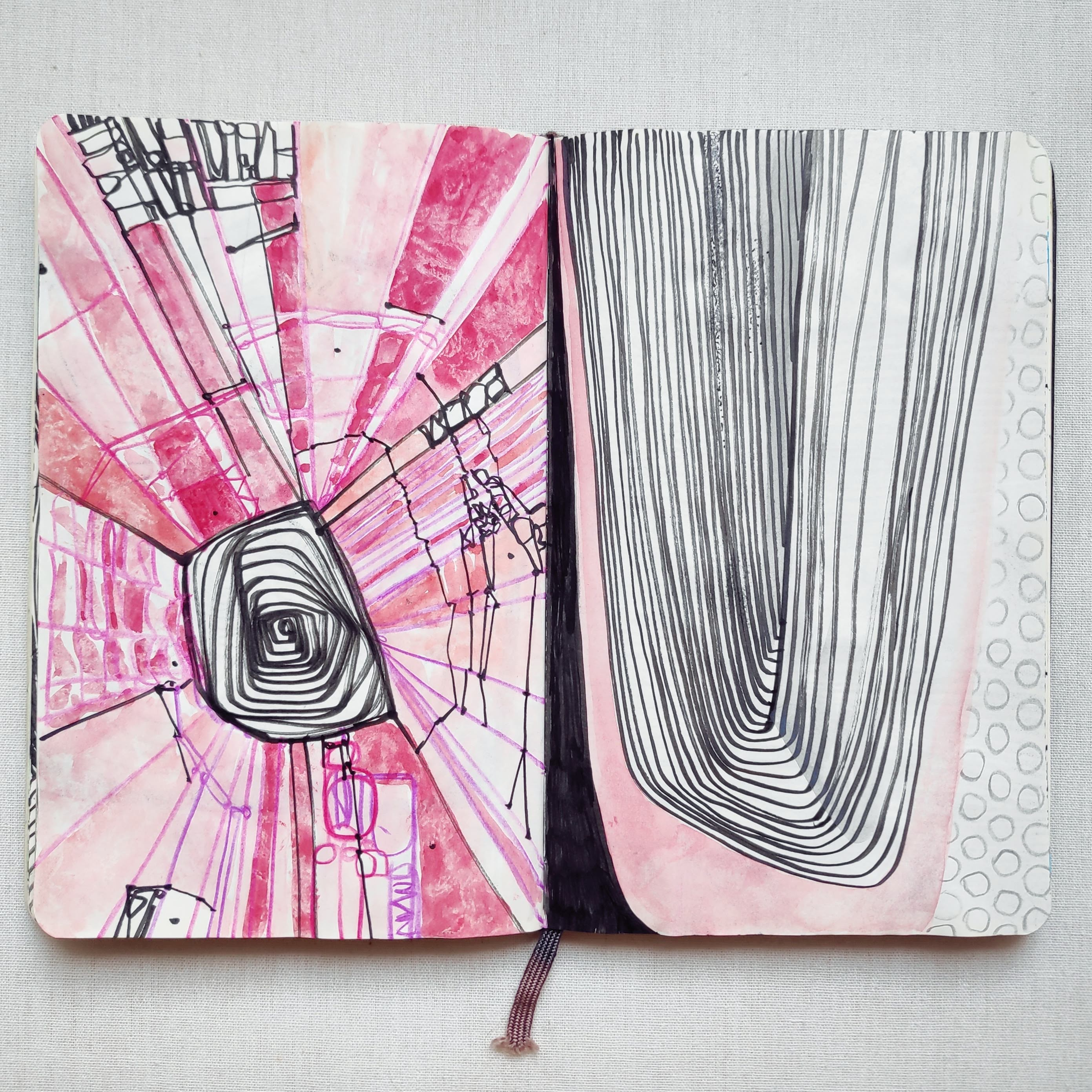 pink tunnel