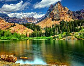 Schöne Natur der Schweiz
