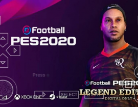 PES 2020 PPSSPP Mod PS4