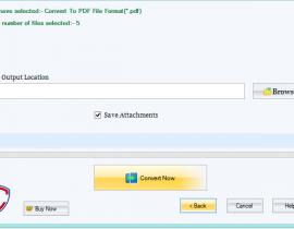 How to Shift  EML file into PDf files format?