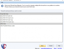 Export Outlook PST to MBOX files format